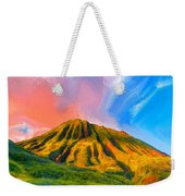 Ancient Hawaii Lava Flow Weekender Tote Bag