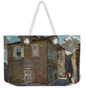 Ancient House In Perast Weekender Tote Bag