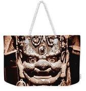 Ancient Mask Weekender Tote Bag