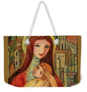 Ancient Mother And Son Weekender Tote Bag