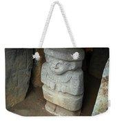 Ancient Pre-columbian Statue Weekender Tote Bag