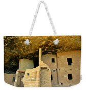 Ancient Pueblo Dwelling Ruins Weekender Tote Bag
