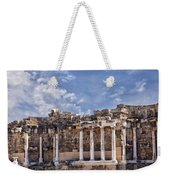 Ancient Ruins In Side Turkey Weekender Tote Bag