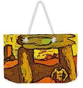 Ancient Sand Painting Weekender Tote Bag