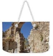 Ancient Side Entrance Gate Weekender Tote Bag