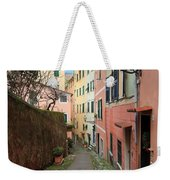 ancient street in Sori Weekender Tote Bag
