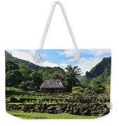 Ancient Taro Gardens In Kauai Weekender Tote Bag