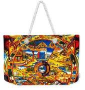 Ancient Tibetan Tangka Wheel Of Life Weekender Tote Bag