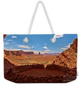 Ancient Viewpoint Weekender Tote Bag