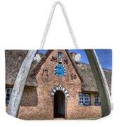 Ancient Whale's Jawbones Gate Weekender Tote Bag