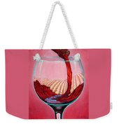 ...and Let There Be Wine Weekender Tote Bag by Sandi Whetzel