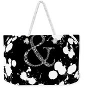 And Sign 2 Splashes Sphere  Weekender Tote Bag