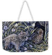And The Grasshopper Says.. Owl Be Seeing U Weekender Tote Bag