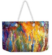 And The Light Flickers Weekender Tote Bag
