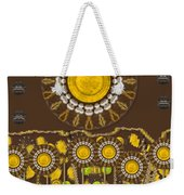 And The Sun Started To Shine Pop Art Weekender Tote Bag