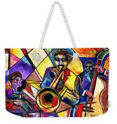 And Then There Was Da Blues Weekender Tote Bag