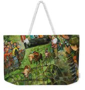 And They Are Off Weekender Tote Bag