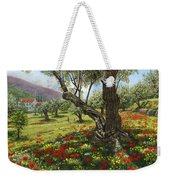 Andalucian Olive Grove Weekender Tote Bag