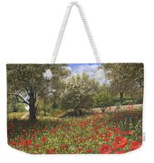 Andalucian Poppies Weekender Tote Bag