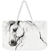 Andalusian Horse Drawing 1 Weekender Tote Bag