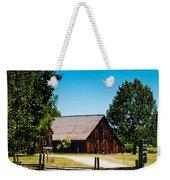 Anderson Valley Barn Weekender Tote Bag