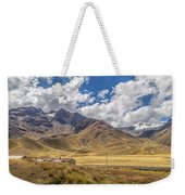 Andes Mountains - Peru Weekender Tote Bag