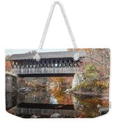 Andover Covered Bridge Weekender Tote Bag