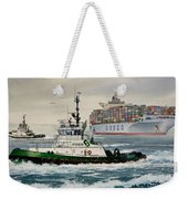 Andrew Foss Assisting Cosco Weekender Tote Bag
