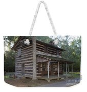 Andrew Logan Log Cabin Ninety Six National Historic Site Weekender Tote Bag