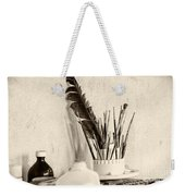 Andrew's Feather Weekender Tote Bag