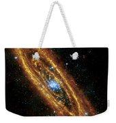 Andromeda Galaxy Weekender Tote Bag by Adam Romanowicz