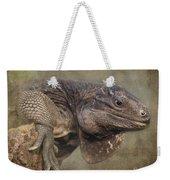 Anegada Ground Iguana - Houston Zoo Weekender Tote Bag