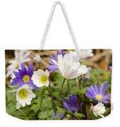 Anemone Blanda Weekender Tote Bag