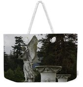 Angel And Garden Urns Weekender Tote Bag