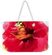 Angel And Poppy Weekender Tote Bag by Katherine Fawssett