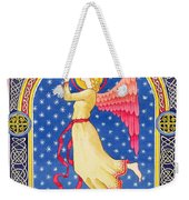 Angel Blowing Trumper Weekender Tote Bag