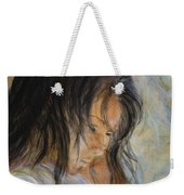 Angel Face Weekender Tote Bag