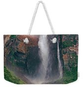 Angel Falls In Venezuela Weekender Tote Bag