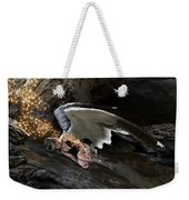 Angel- Give Your Worries To The Father Weekender Tote Bag