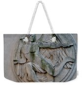 Angel In A Wall Weekender Tote Bag
