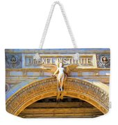 Angel In Drexel Weekender Tote Bag