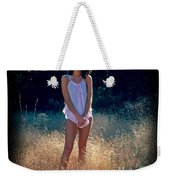 Angel In The Grasses Weekender Tote Bag