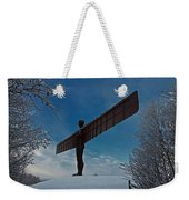 Angel In The Snow Weekender Tote Bag