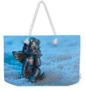 Angel In The Snow Weekender Tote Bag