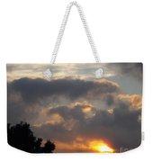 Angel In The Sunrise Weekender Tote Bag