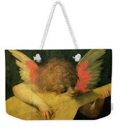Angel Musician Weekender Tote Bag