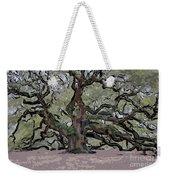 Angel Oak Digital Art Weekender Tote Bag
