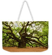 Angel Oak Tree 2009 Weekender Tote Bag by Louis Dallara
