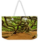 Angel Oak Tree Branches Weekender Tote Bag by Louis Dallara