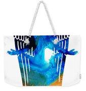 Angel Of Light - Spiritual Art Painting Weekender Tote Bag